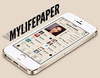 MyLifePaper Redesign