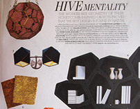 Honeycomb Jacquard Magazine Feature
