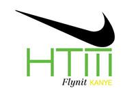 Kanye West for HTM Nike