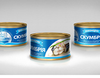 Canned fish package design