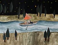 """Abyssus Abyssum"" - Illustrations"