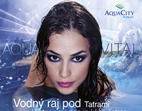 Advertising Tatrymagazin AquaCity Poprad 2013