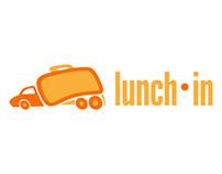 Lunch-In Logo & Wireframes