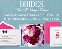 Brides Fine Wedding Papers :: Checkerboard