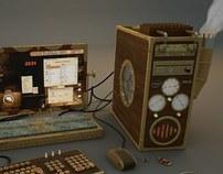 Computador Steampunk