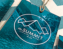 Mt.Summit Clothing Co. | Identity & Hangtags