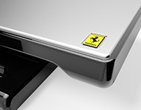 F1 Design - Ferrari Switchback Coffee Table