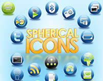 Free Resource: The Spherical Icon Set