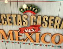 RECETAS CASERAS DESDE MÉXICO