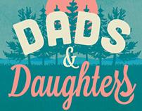 Dads & Daughters Logo Badge