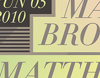 Mark Broom / Matthew Hoag Poster