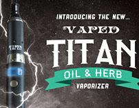 Vaped Titan - Magazine Ad