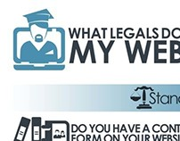 Infographic on Website legal formalities
