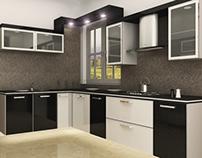 Black & White Kitchen...