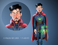 Ilustra - Dr Strange