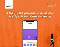 Paint AI App - UI/UX Design