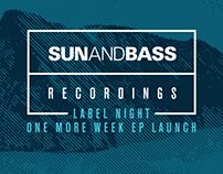 SUNANDBASS Label Night London #1