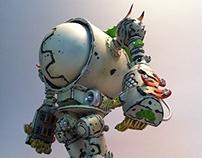 A.B.R.  -  Air Bass Robo