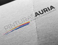 Logo for Pinturas Auria
