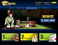 Capsa - Website & Game