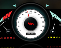Vehicle Cluster Gauge Design