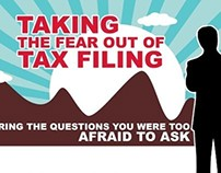 Infographic on Fear of Tax Filing