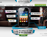 Microsite : Samsung Galaxy Pocket - Africa