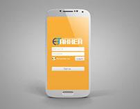 SmartPhone App Login Page