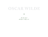 Oscar Wilde : The First Trial Book