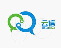 Cloud Chat - Logo Design