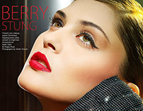 Marie Claire: BERRY STUNG