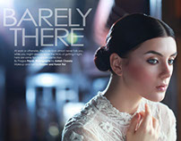 Marie Claire: BARELY THERE