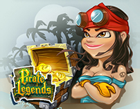 Pirate Legends TD Characters