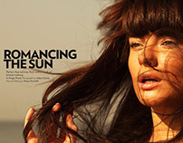 Marie Claire: ROMANCING THE SUN