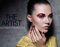 Marie Claire: THE ARTIST