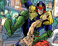 Dredd drawing and other things
