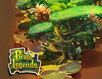 Pirate Legends TD Background 4