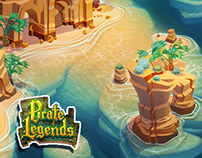 Pirate Legends TD Background 3