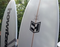 Howitzer Handshaped surfboards