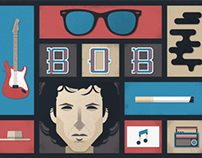 Bob Dylan Poster - The Style of Music