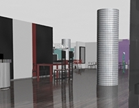 Ma 3D Design for Virtual Environments: Hotel Missoni