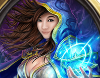 Mage drawing for Cassandra Schenkhuizen