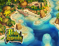 Pirate Legends TD Background 1