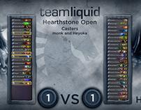 TeamLiquid Open Hearthstone Overlay