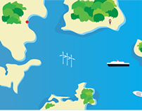 Mobile game - Ferry routes