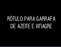 RÓTULO PARA GARRAFA //BOTTLE LABEL