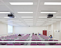 Lecture Hall, Imperial College, London by BGS Architect