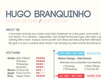 Hugo Branquinho - CV 2013