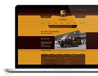 UPS Concept Web Site