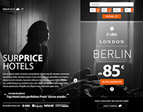 Surprice Hotels Website